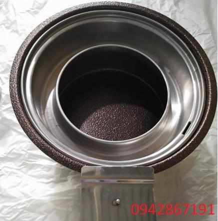 Bếp nướng than hoa có quạt thổi than tại Hà Nội