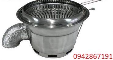 Bếp nướng than hoa âm bàn hút dưới giá rẻ nhất tại Hà Nội