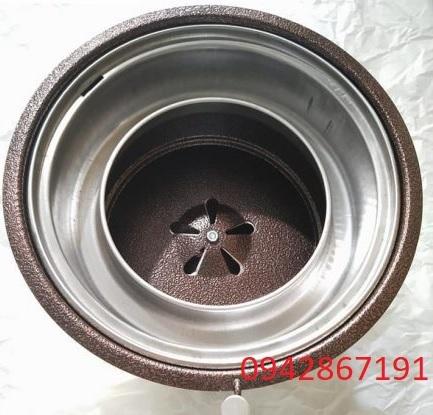 Bếp nướng than hoa không khói âm bàn giá rẻ tại Bắc Ninh