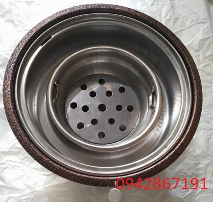 Bếp nướng than hoa hút dương bằng sắt giá rẻ nhất Hà Nội