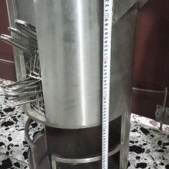 Chiều cao xe đẩy vỉ nướng bếp nướng than hoa