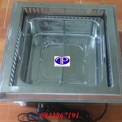 Bếp ( nồi) lẩu 2 ngăn âm bàn nhà hàng giá rẻ tại Hà Nội