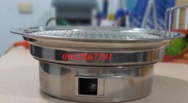 Giá bán bếp nướng than hoa âm bàn ngoài trời và vỉa hè tại Hà Nội
