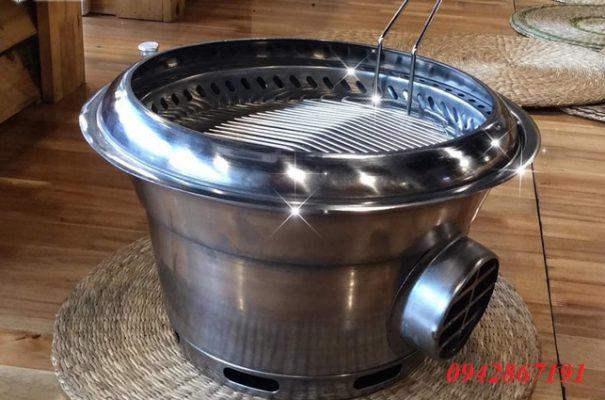 Giá bán bếp nướng than hoa không khói hút dưới