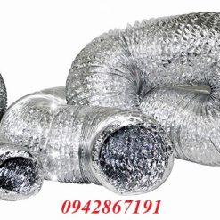 Giá bán ống gió bạc mềm ống gió mềm ống hút gió bếp nướng