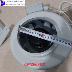 Quạt nối ống D 150 chất lượng giá rẻ