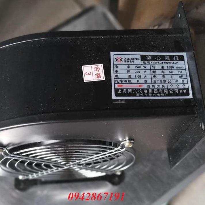 Giá quạt hút mùi ly tâm công suất 240w tại Sài Gòn