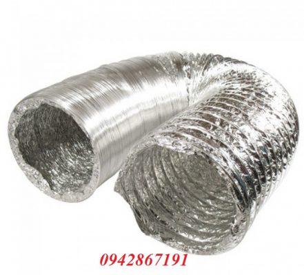 Bán ống gió bạc mềm chất lượng giá rẻ tại Hà Nội