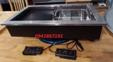 Giá bán bếp điện lẩu nướng đa năng âm bàn